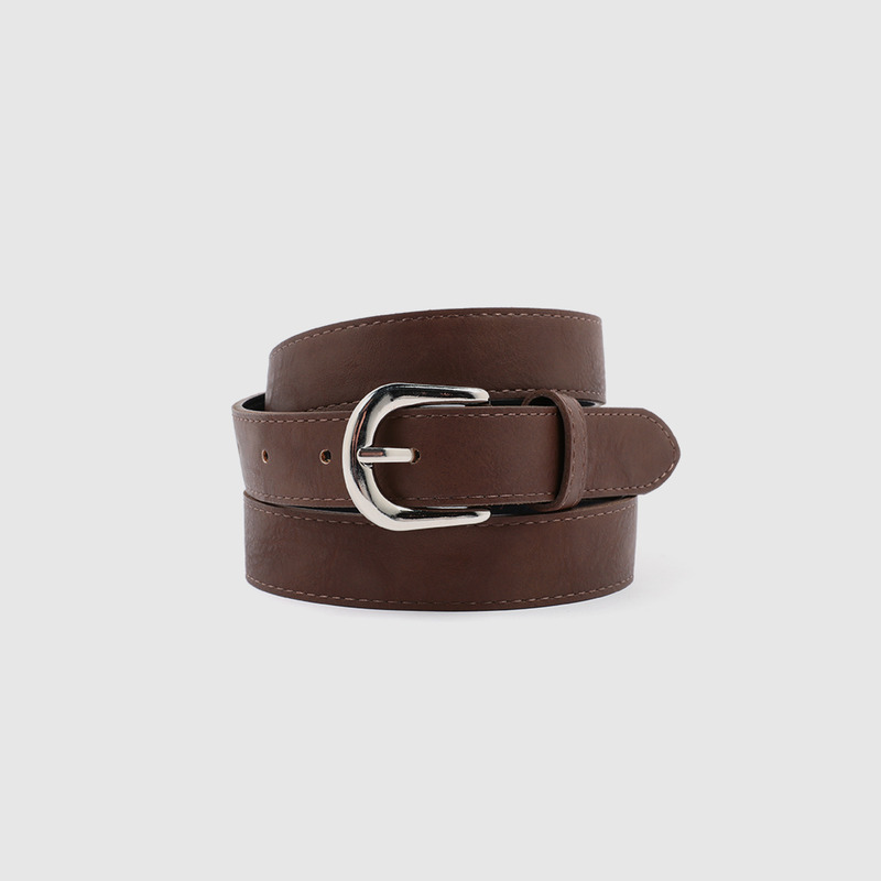 Basic larger simple belt-모스빈