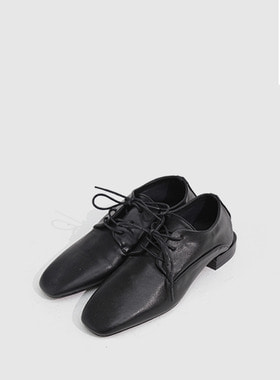 [무료배송] Mannish lace up loafer-모스빈