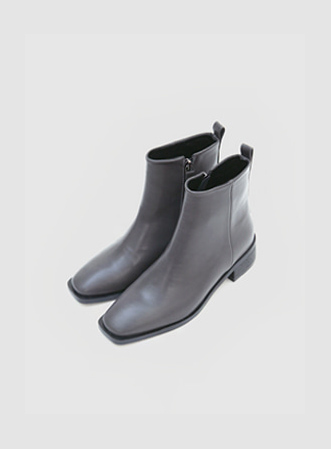 [무료배송] Daily square ankle boots-모스빈